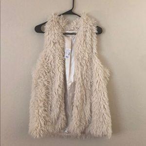 Maurice's Plus Size Fuzzy Vest NEW